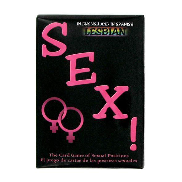 Juego Cartas Posturas Sexuales Lesbianas Kheper Games - LOVERSpack