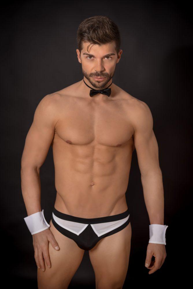 Disfraz Erótico Camarero con Pajarita - LOVERSpack