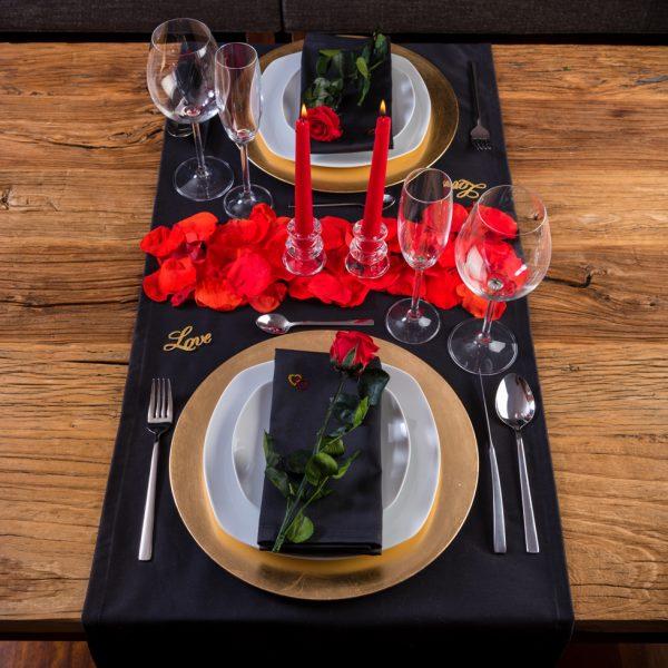 Decoraci n para cena rom ntica pack rom ntico hator de - Ideas romanticas para hacer en casa ...
