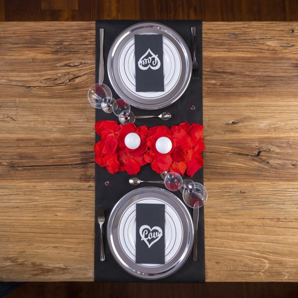 Romantic Pack Qadesh Copas Plástico
