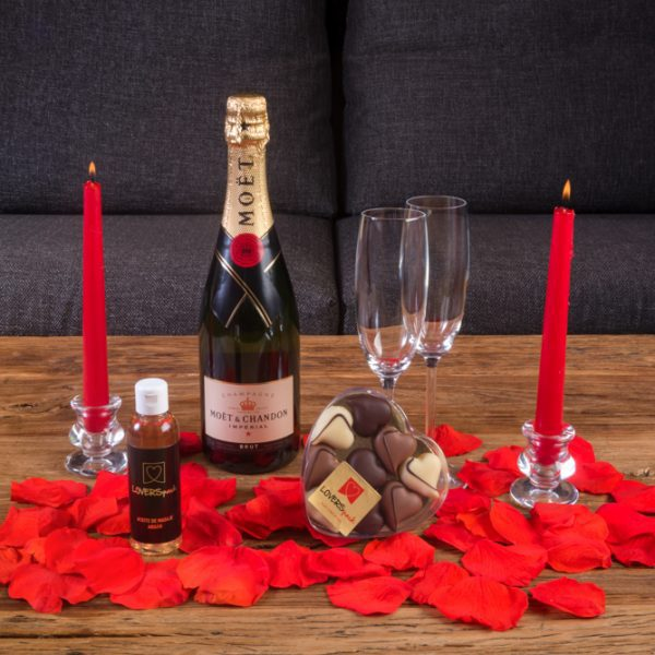 Pack Luxury Champagne Moët 75 cl.