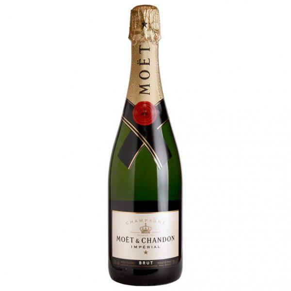 Botella Champagne Moët & Chandon 75 cl. - LOVERSpack