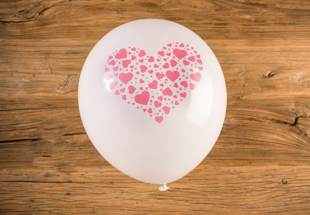 Decoración con globos para decoración romántica, fiestas de cumpleaños, aniversarios, etc...