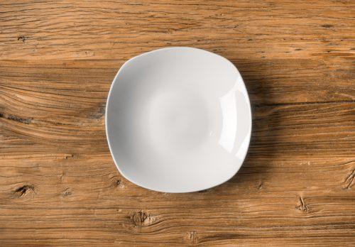 Plato Hondo Porcelana Lovers 21 cm. Color Blanco - LOVERSpack