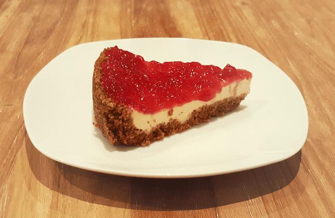 Receta fácil tarta de queso Cheesecake - LOVERSpack