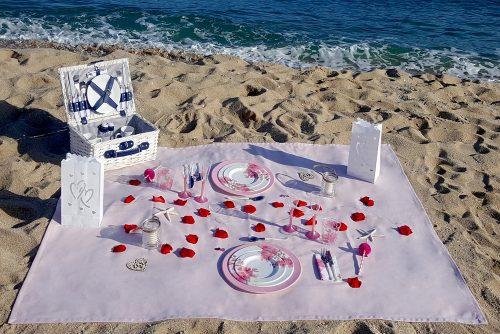 Pack picnic romántico playa - Outdoor Pack Levante