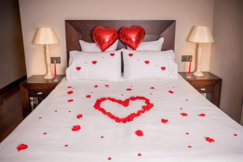 Decoración habitación romántica