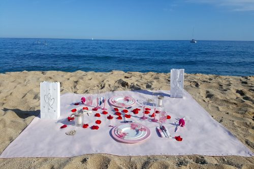Picnic Romántico Playa -Cierzo Outdoor Pack - Loverspack