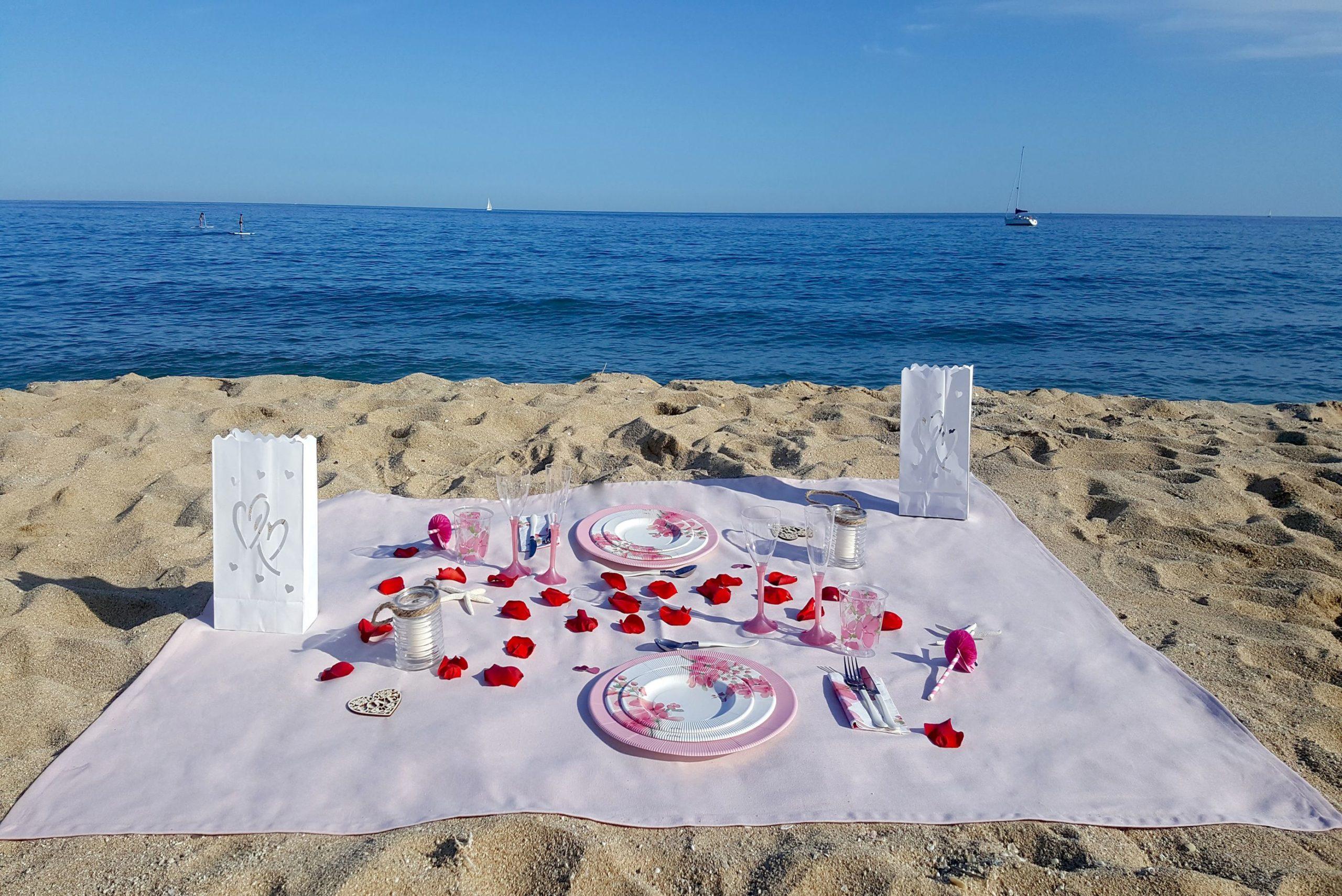 Picnic Romántico Playa -Cierzo Outdoor Pack - Loverspack