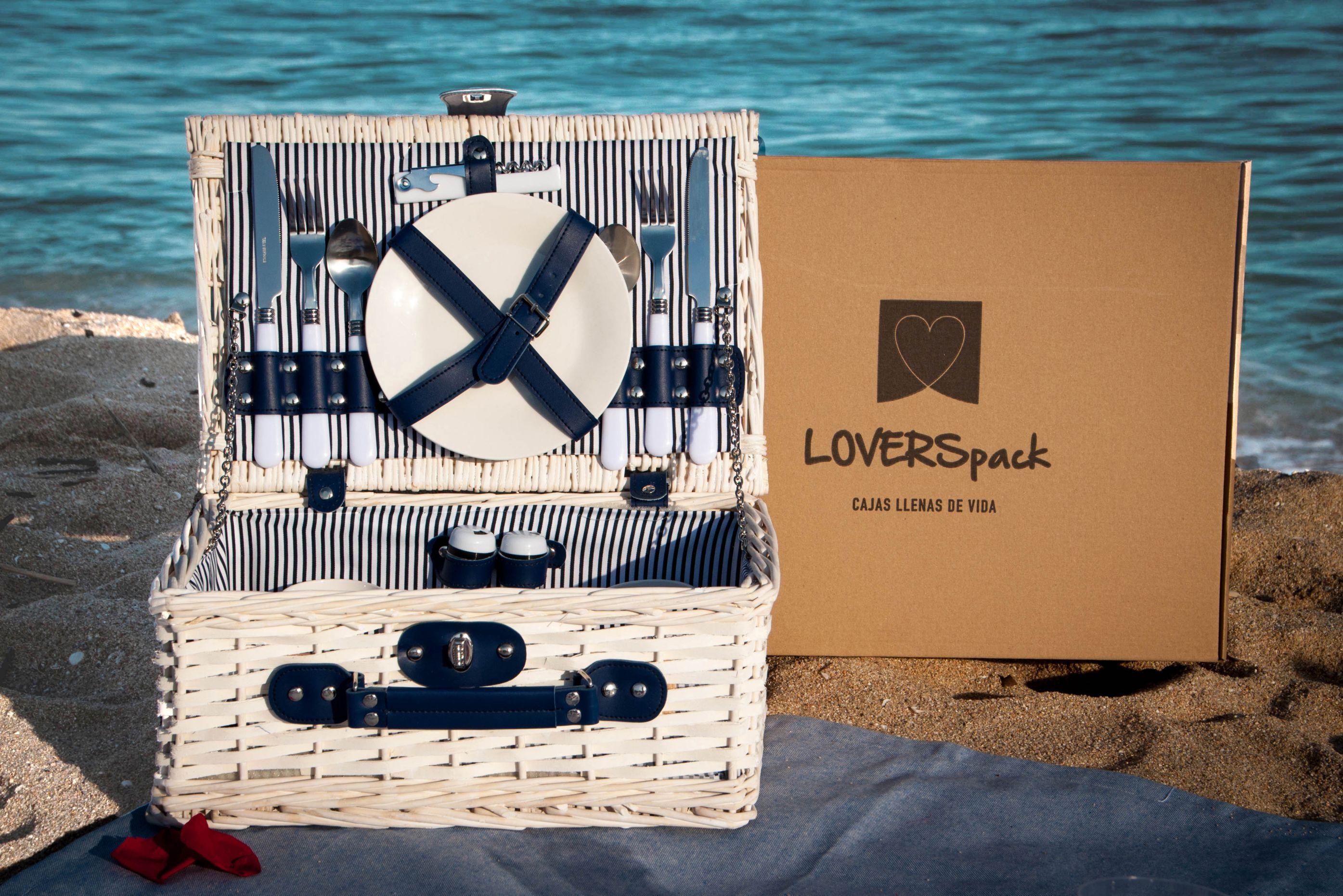 Cesta Picnic Romántico para 2 personas- LOVERSpack