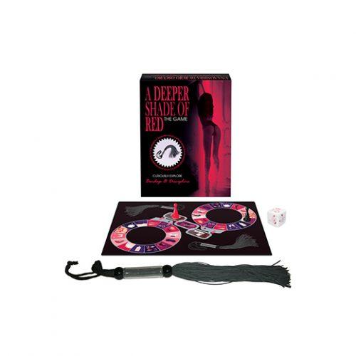 Juego erótico de mesa para parejas, A Deeper Shade of Red -Kepher Games - LOVERSpack