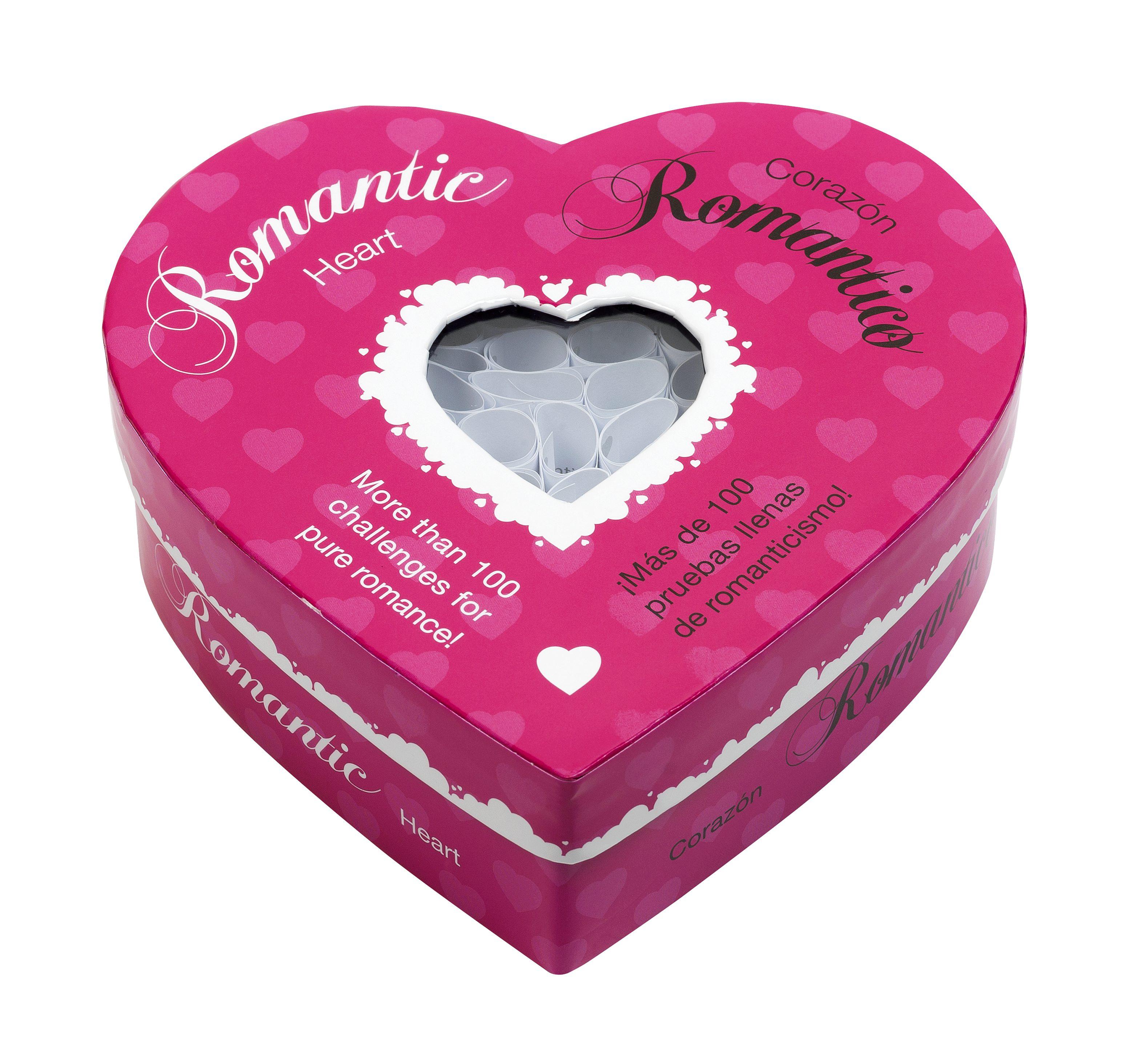 Juego para Parejas, Corazón Romántico 100 Pruebas Llenas de Romanticismo Tease & Please - LOVERSpack