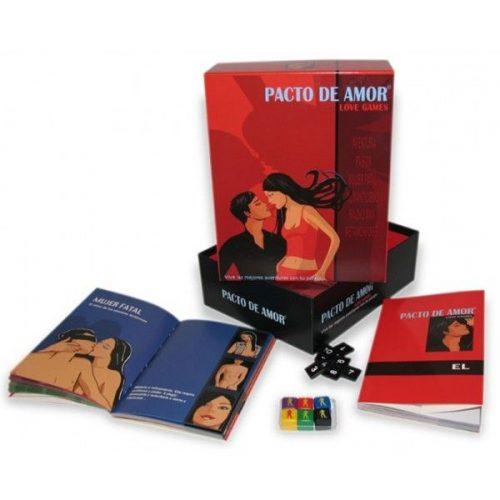 JUEGO PARA PAREJAS - PACTO DE AMOR - LOVERSpack