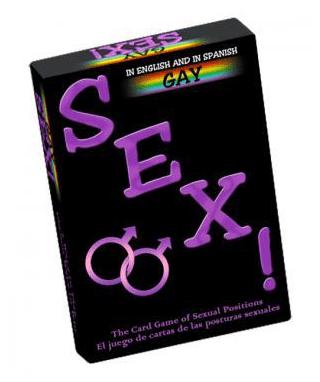 Juego Cartas Posturas Sexuales Gay – Kheper Games - LOVERSpack