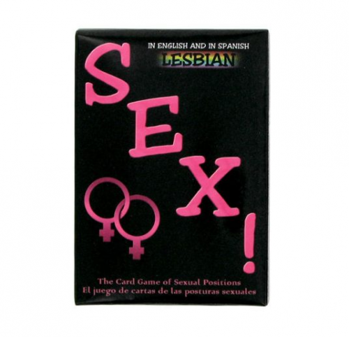 Juego Cartas Posturas Sexuales Lesbianas - Kheper Games - LOVERSpack