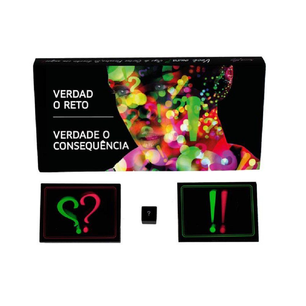 Juego de Cartas Erótico Verdad o Reto - Secret Play - LOVERSpack