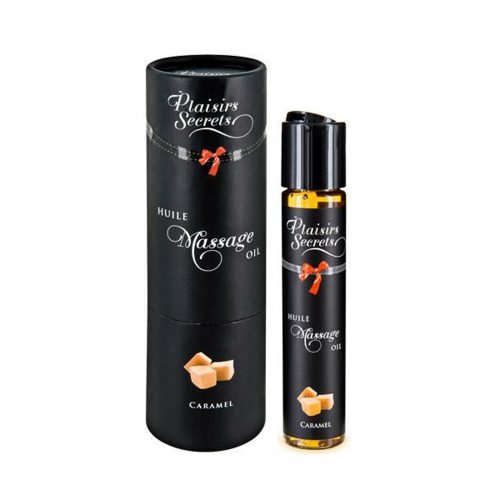 ACEITE MASAJE COMESTIBLE AROMA CARAMELO - PLAISIR SECRET -LOVERSpack