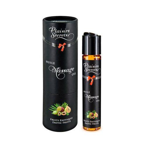 Aceite Masaje Comestible de Frutas Exóticas 59 ml. - Plaisirs Secrets Paris - LOVERSpack