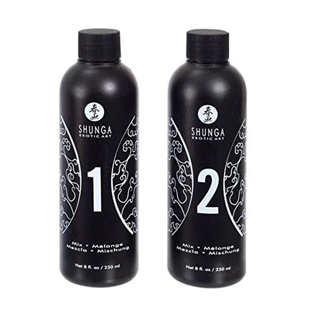 Kit Gel de Masaje Erótico Cuerpo a Cuerpo Aroma Cava y Fresas– Shunga - LOVERSpack