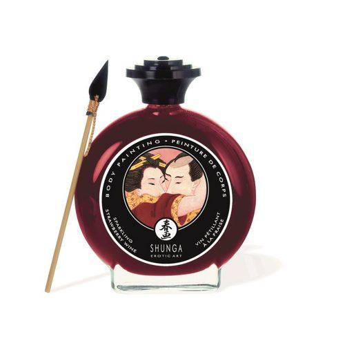 Pintura Corporal Comestible Sabor Cava y Fresas - Shunga - LOVERSpack