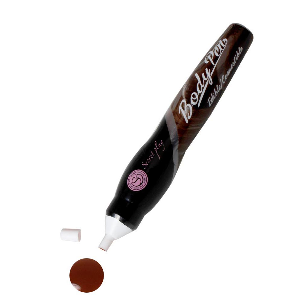 BODY PEN - LÁPIZ PINTURA COMESTIBLE CHOCOLATE - SECRET PLAY - LOVERSpack