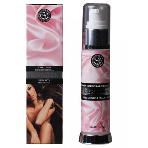 LOCIÓN PIEL DE SEDA AFRODITA 50ml. DE SECRET PLAY -LOVERSpack