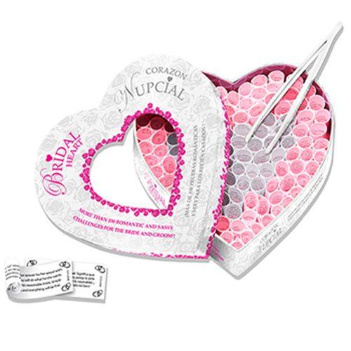 uego erótico para pareja - Corazón Nupcial (100 pruebas para románticas para recien casados) Tease & Please - LOVERSpack