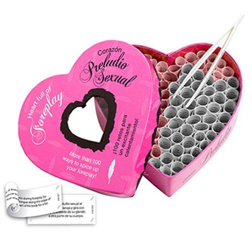 Juego erótico para pareja - Corazón Preludio (100 retos para un excitante calentamiento)Tease & Please - LOVERSpack