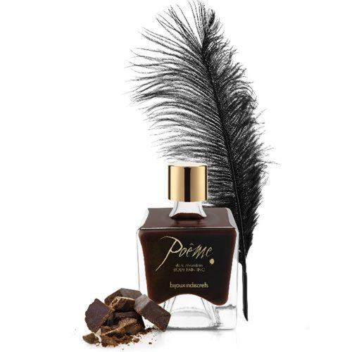 Poême Pintura Corporal Comestible Chocolate Negro- Bijoux Indiscret - LOVERSpack