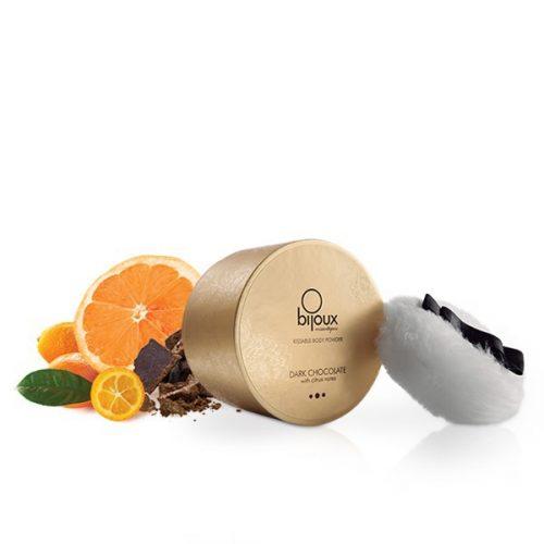 Polvos Corporales Comestibles de Chocolate Negro 45 grs. – Bijoux Indiscrets- LOVERSpack