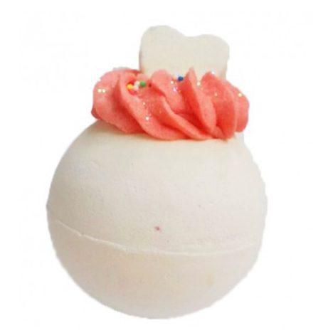 Bomba de Baño Corazón Efervescente Fresa Cosmética Natural Cruelty Free - LOVERSpack