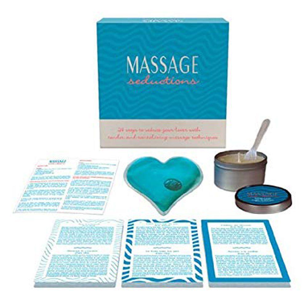 Juego Erótico Mesa Massage Seductions 24 Técnicas de Masajes Seductores de Kheper Games - LOVERSpack