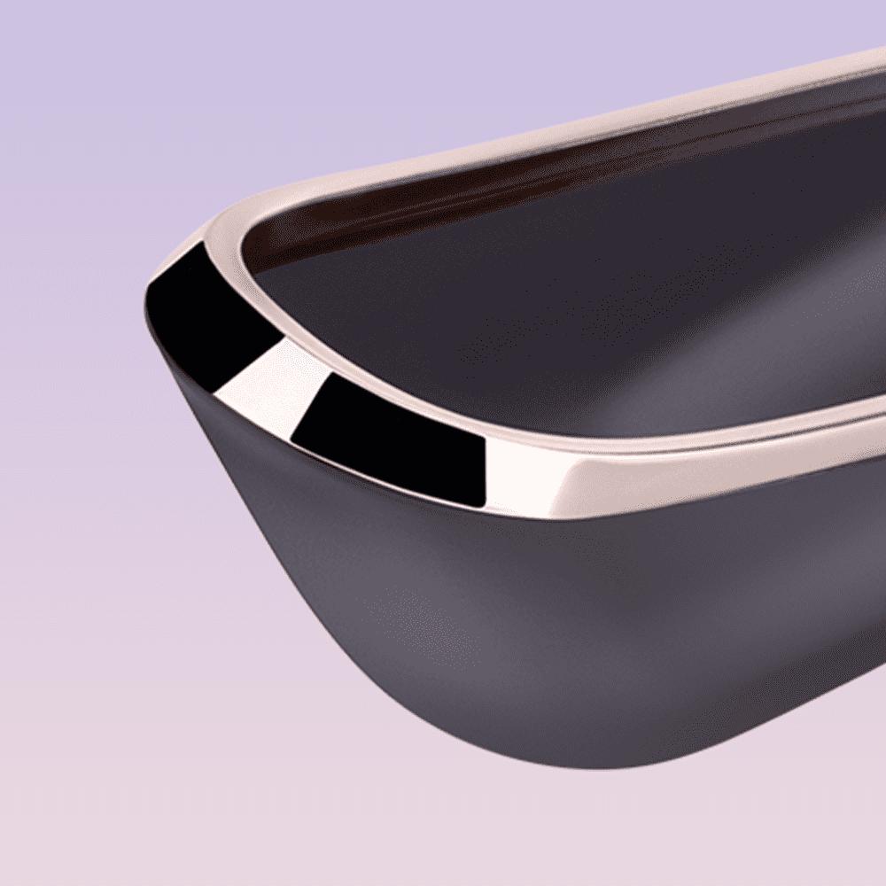 Satisfyer Pro Traveler Next Generation Vibrador - Succionador de Clítoris de Viaje, Discreto y Elegante - LOVERSpack