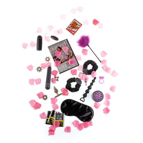 Kit Erótico, Sensual y Sexy Weekend Box by Toy Joy