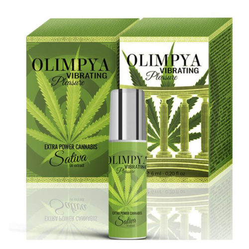 OLIMPYA VIBRATING PLEASURE POTENTE INTENSIFICADOR SATIVA - LOVERSpack