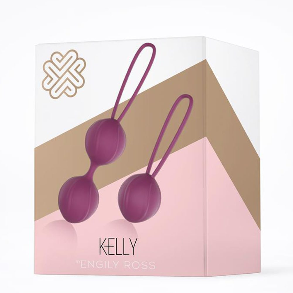 Bolas Chinas Kegel Silicona Médica Púrpura Kelly by Engily Ross - LOVERSpack