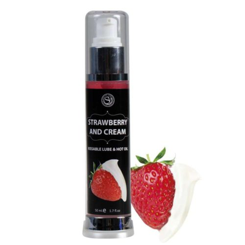 Lubricante Fresas con Nata Secret Play - LOVERSpack