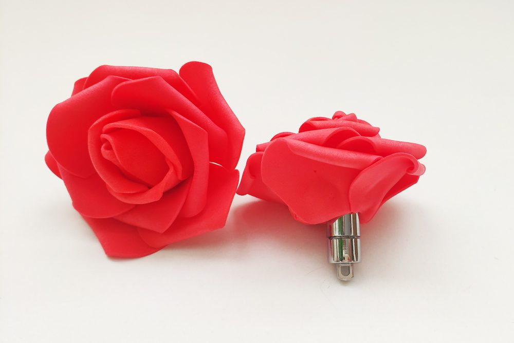 Rosas Goma EVA Rojas Luz Led - LOVERSpack