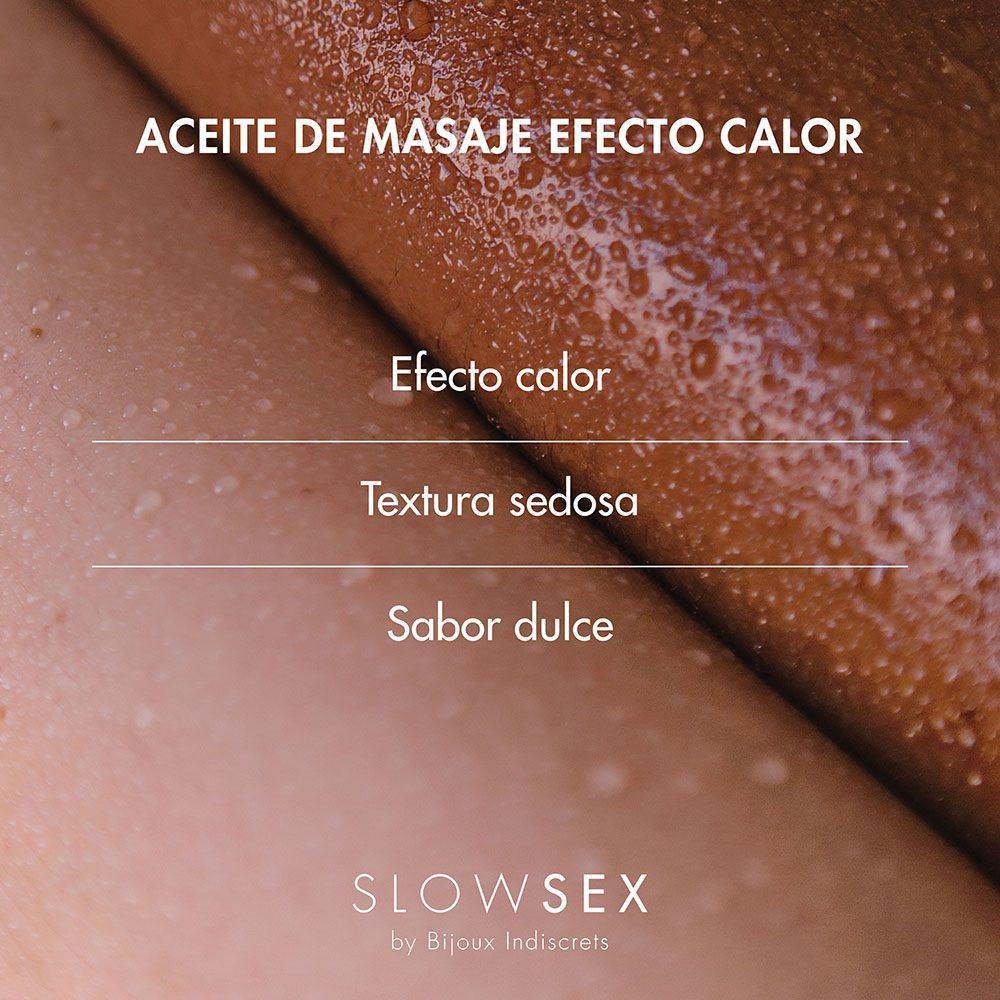 Aceite Masaje Erótico Slow Sex
