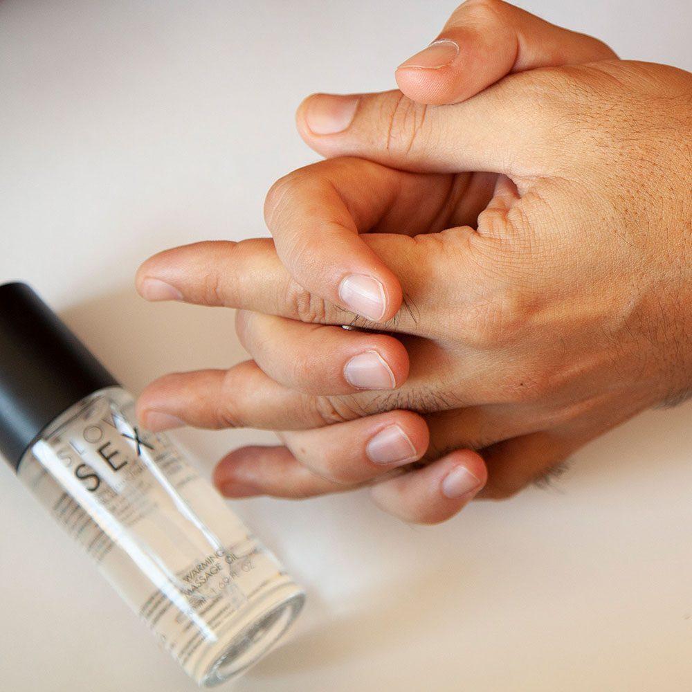 Aceite masaje erótico