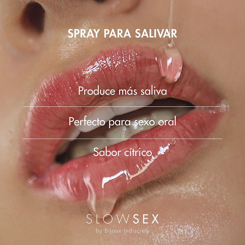 Spray para salivar perfecto para sexo oral